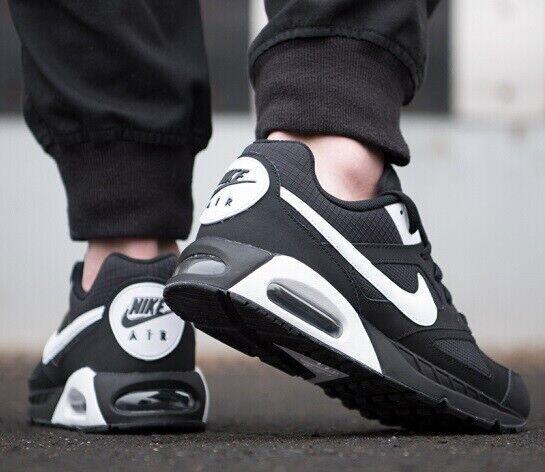 Air Max Nike Ivo shoes da Corsa Casual 580518-011 black Bianco UK 9.5 Eu 44.5