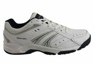 Mens-Slazenger-Baseline-Lace-Comfortable-Sneakers-ModeShoesAU