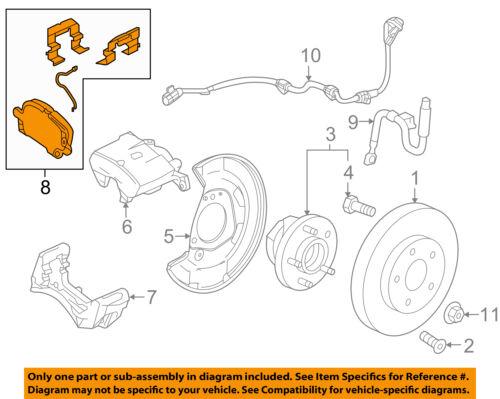 Chevrolet GM OEM 16-18 Cruze Brake-Front Pads 84152472