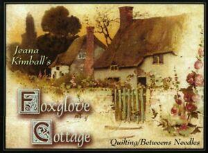 Foxglove Cottage Quilting/Betweens Needles, Sampler Pkg  sz 8-12