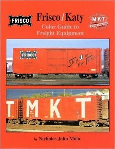 FRISCO-KATY-Color-Guide-to-Freight-Equipment-NEW-BOOK