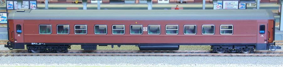 ROCO 44721-SJ, b7 2. classe, Braun-SOS 1998 Svezia-NUOVO OVP