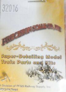 Precision Scale HOn3 #32016 Pockets, Stake, 2-U-Bolt, D&RGW (12 Brass Parts)
