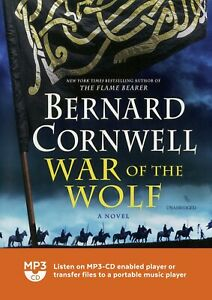 War-of-the-Wolf-Saxon-Tales-by-Bernard-Cornwell-MP3CD-Audiobook