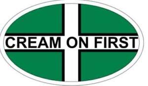 The-original-Devon-034-cream-on-first-034-car-van-window-bumper-sticker-gift