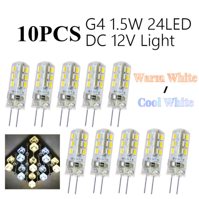 10X Super Bright G4 1.5W LED Light Bulb Base Landscape decorative Lamp DC 12V