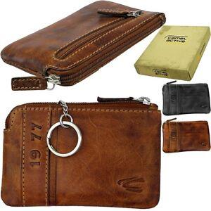 am besten billig Stufen von Schatz als seltenes Gut Details about Camel Active Vintage Key Case Pouch Key Wallet Key Exchange