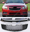 2PCS Front Grill Grille Upper+Lower Bumper Vent Hole For Chevrolet Cruze 2011-14
