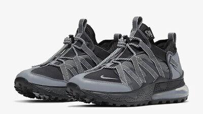 Hombre Nike Air Max 270 Bowfin Zapatillas Negras Gris Plata AJ7200 008GB 8 | eBay