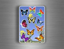 Set sticker aufkleber kind kinder scrapbooking wandaufkleber  Schmetterling