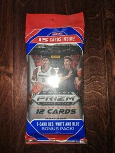 2020-21-Panini-Prizm-Collegiate-DP-NBA-Draft-Picks-Cello-Pack-NEW