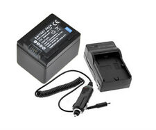 New BP-727 BP-718 Battery with charger For Canon VIXIA HF R32 R30 M500 cameras
