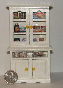 Dollhouse Miniature Kitchen Cabinet