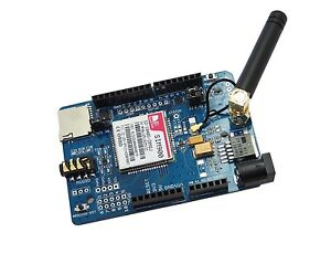 Details about NEW SIMCOM SIM900 Quad-band GSM GPRS Shield for Arduino(with  micro SD card slot)
