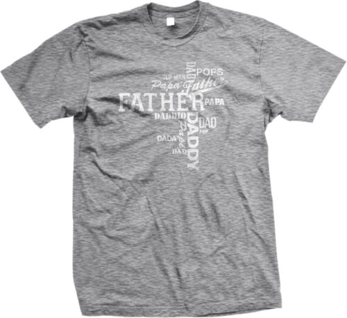 Many Ways To Say Father Dad Daddy Pops Poppa Old Man Fathers Day Mens T-shirt