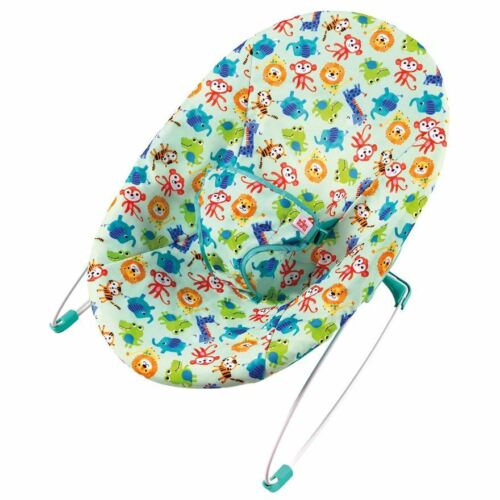 Cradling Seat Design Bouncing Motion Bright Starts Silly Safari Bouncer