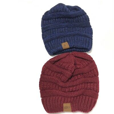 American Eagle Hat for Men and Women Winter Warm Hats Knit Slouchy Thick Skull Cap