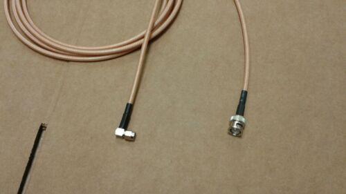 BNC  plug to  SMA   plug  GPS  Antenna  ADS-B GDL39  RG-400 Cable 10 FT