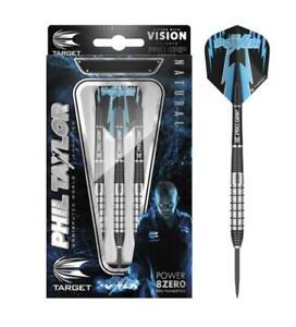 Phil Taylor Power 8zero Gen II 22gram Steel Tip Dart From Target Darts