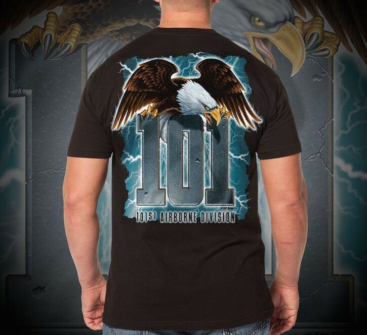 7.62 DESIGNS   SCREAMING EAGLE   T SHIRT AIRBORNE DIVISION ALL SIZES