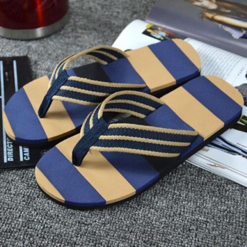 Casual Summer Fashion EVA Man Shoes Flip Flops Sandals Beach Home Flat Shoes