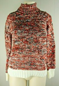 Philosophy-Women-039-s-NWT-Knit-Turtle-neck-Pullover-Sweater-Sz-Small-H6