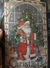 Bucilla Cross Stitch Kit Christmas Advent Calendar Charms Santa Holiday 83698