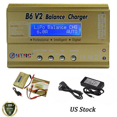 Details about  /iMAX B6 LCD Screen Digital RC Lipo NiMh Multi-Function Battery Balance Charger