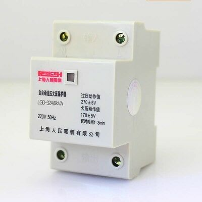 1pcs x Automatic Over/Under Voltage Protection Voltage Delay 30A