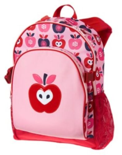GYMBOREE APPLES PRINTED BACKPACK w// MATCHING LUNCHBOX NWT