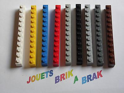 Brick Brique 1x12 12x1 6112 Choose Color /& Quantity x2 x20 Lego
