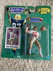 2000 JOE MONTANA San Francisco 49ers commemorative Starting Lineup