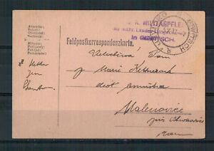 K-U-K-Militarpflege-Gewitsch-apres-Malenovice-Tcheque-1917