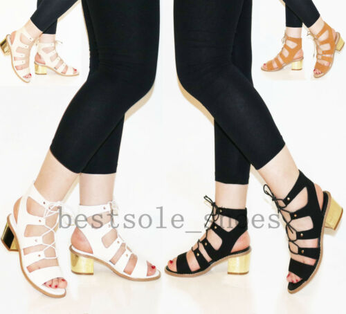 cinturino cinturino medio 8 donna Uk3 Scarpe con sandali da tacco Patentpu con Scarpe caviglia Beige e taglia con alla aqt4Hw70n