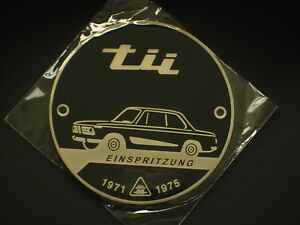 BMW /'Tii/' Badge Red