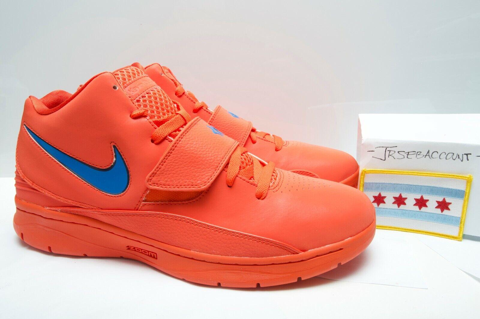 Nike Zoom KD II 2 Supreme - Creamsicle - Size 11 - 398262-800