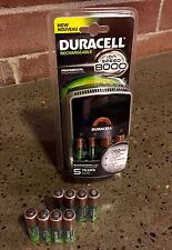 Duracell Bundle: ION Speed 8000 Charger W/ 10AA and 2AAA Rechargeable Batteries