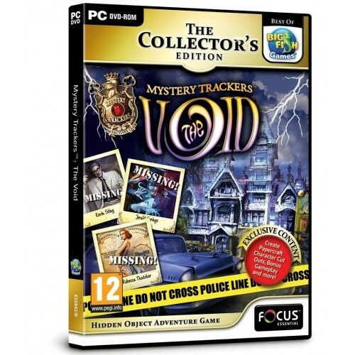 Mystery Trackers The Void Collectors Edition PC BRAND NEW AND SEALED