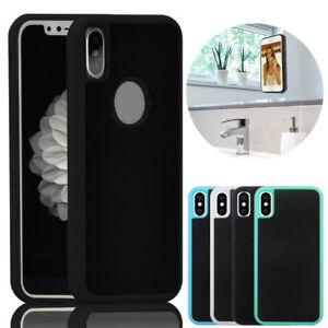 new styles 9d7dc 91023 Details about Anti Gravity Case Goat Suction Magic Stick Selfie Phone Cover  For iPhone X