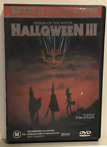 Halloween-3-Season-of-the-Witch-Region-4-DVD-VG-Condition