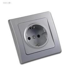 DELPHI Protector enchufe contacto Plata Enchufe de pared Caja empotrada,