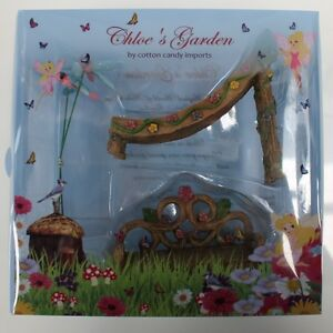 NEW CHLOE'S GARDEN FAIRY DECORATIONS SLIDE AND CHAIR FV270 ... on