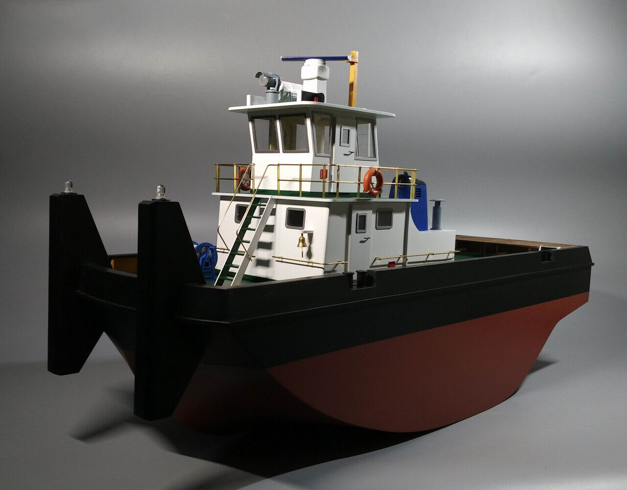 Hobby Springer Pusher Tug  Scale 1 35  Twin Nozzel Wooden modello Ship Kits DIY  centro commerciale di moda