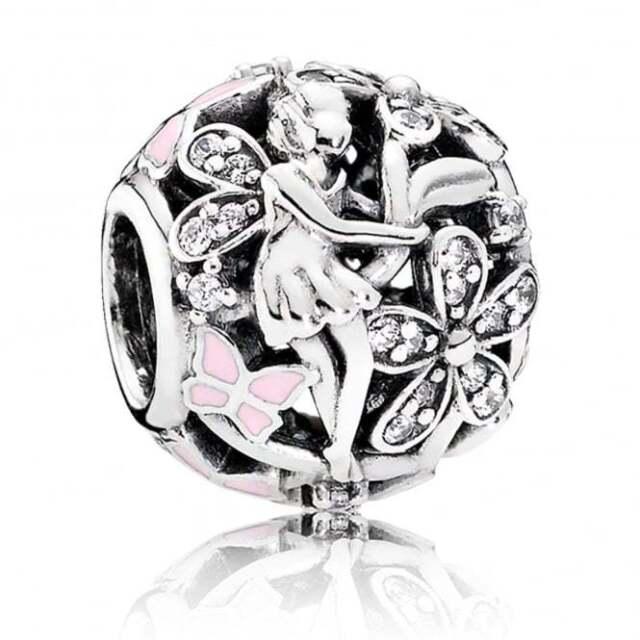 Genuine Pandora Dazzling Daisy Fairy Charm 791841EN68
