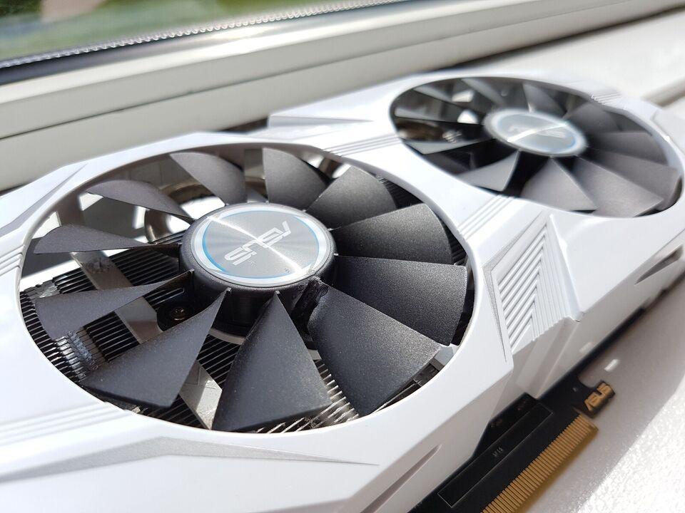 Nvidia GeForce GTX 1060 ASUS, 6 GB GB RAM