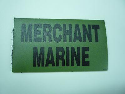 "USMC WHITE ON BLACK PCX PATCH PAIR 3.5/"" x 2/"" WITH VELCRO® BRAND FASTENER"