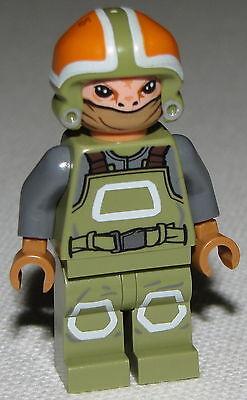 Geschickt Lego Neu Widerstand Ground Crew Star Wars-minifigur Force Awakens Set 75102 Clear-Cut-Textur Spielzeug
