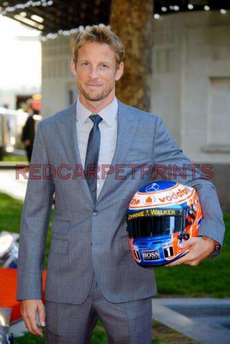 Jenson Button Poster Picture Photo Print A2 A3 A4 7X5 6X4