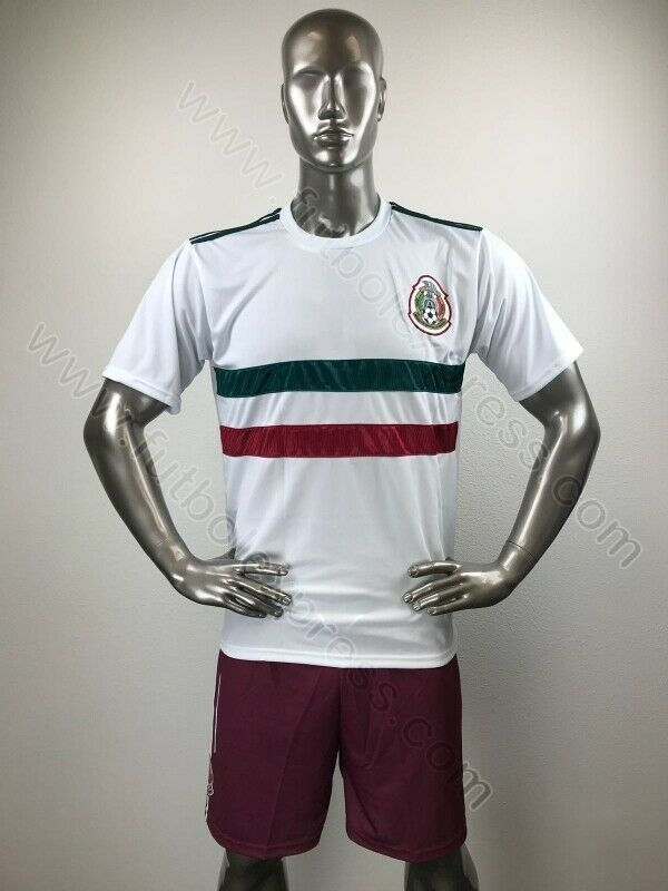 9 Mexico Away OUT OF SEASON SALE Soccer Uniforms  Uniformes de futbol