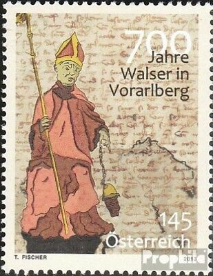 Selfless Austria 3076 Unmounted Mint Stamps Never Hinged 2013 Walser Good Reputation Over The World